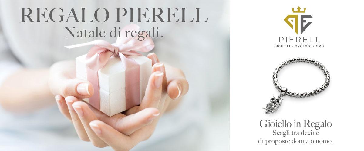 Regali natale gioielli Pierell